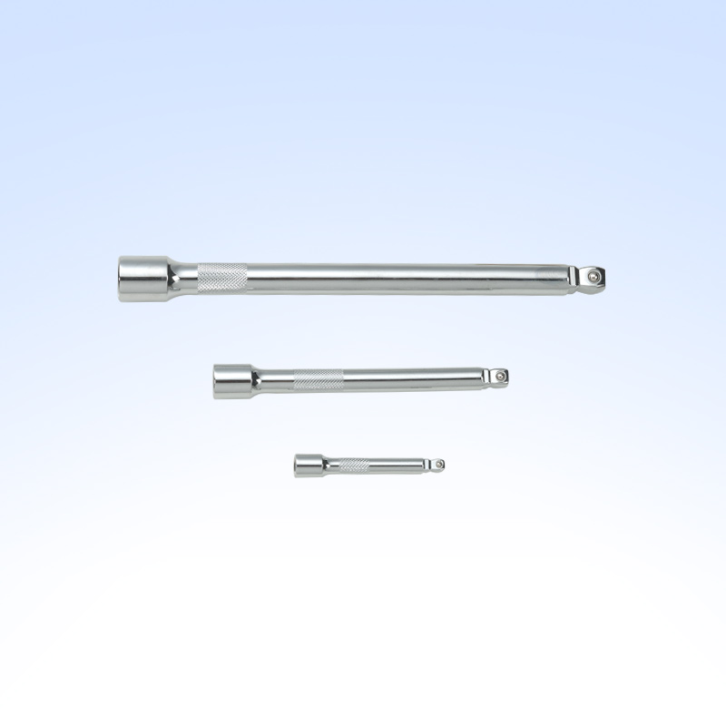Wobble Two-way Extension bar (knurled,chrome-plated)